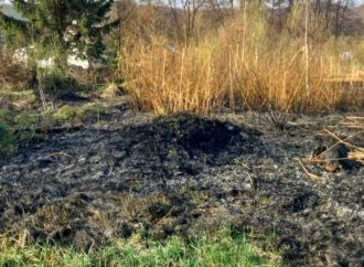 Незважаючи на застереження, у Винниках палять суху траву