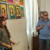 У Винниках презентували виставку дитячих малюнків «Портрет мами»