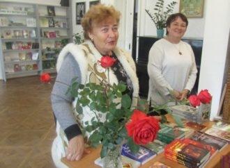 Із винниківчанами зустрілася  знана письменниця Ніна Фіалко