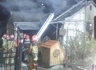 У Лисиничах горіла хата