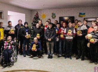 Представники ФК «Рух» (Винники) були помічниками святого Миколая