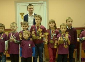 Команда винниківської Шахової школи «Blak & white» – найсильніша в Львівські області