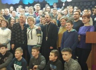 Зірковий гість Винниківської школи-інтернату Олег Скрипка: «Усе в житті треба робити з любов'ю»