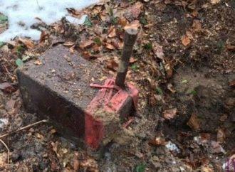 На околиці Винник виявили контейнери з невідомим вмістом
