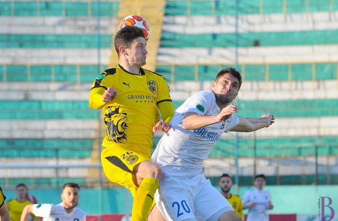 «Рух» на стадіоні «Україна» переміг ФК «Балкани»