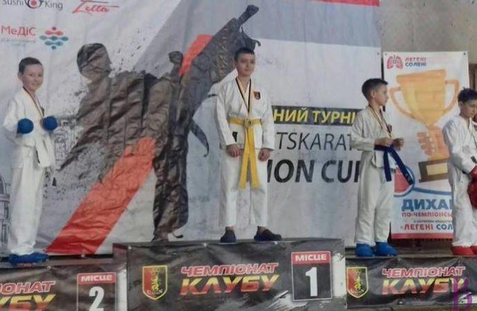 Юні каратисти з Винник стали переможцями турніру «Union Games»