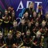 Наймолодші учасники ансамблю «Карамель» стали бронзовими чемпіонами відбіркового туру ЧУ з хореографічного мистецтва