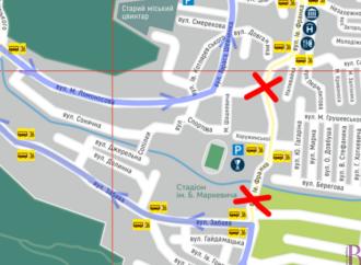 У Винниках на ремонт закрили частину вулиці Івана Франка (схема об'їзду для автотранспорту)