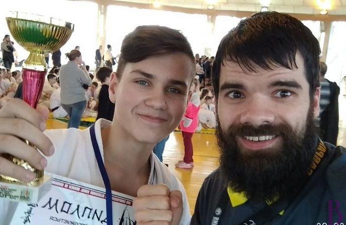 Восьмикласник СЗШ № 29 отримав «срібло» на чемпіонаті Львівщини з кіокушинкай карате