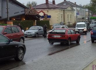 На вулиці Галицькій у Винниках – автоаварія