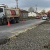 Триває ремонт центральної винниківської вулиці