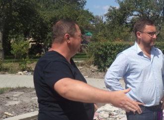 У Винниківській міській раді відбулася нарада щодо ремонту доріг і тротуарів