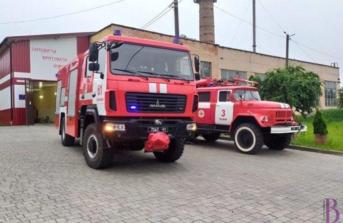 Рятувальники 61-ДПРЧ м.Винники гасили  дві пожежі – в Гаях і Миколаєві