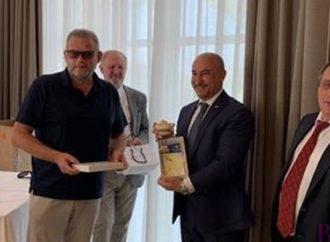 Міський голова Винник Володимир Квурт ознайомлюється з досвідом італійських колег