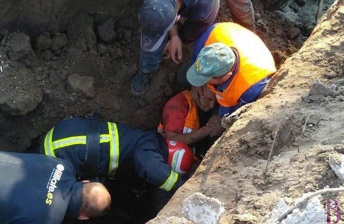 У травмованого  під час земляних робіт на будівництві у Винниках  працівника діагностовано мозкову кому
