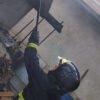 У Лисиничах загорілася альтанка