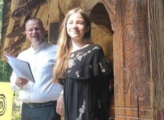 У Шевченківському гаю експонують ікони 13-річної винниківчанки Віти Мостової