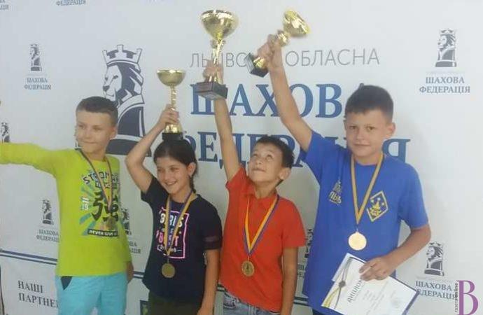 Матвій Піх – серед переможців чемпіонату Львівщини з шахів