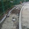 У Винниках завершують спорудження ще одного брукованого тротуару