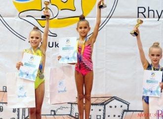 Учениця СЗШ № 29 Атастасія Яцунда виборола два призові місця на міжнародному турнірі з художньої гімнастики