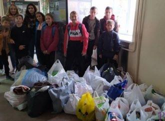 Учні СЗШ № 29 зібрали допомогу для тварин із притулку «Милосердя»