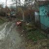 На вулиці Руській у Винниках споруджують дощову каналізацію