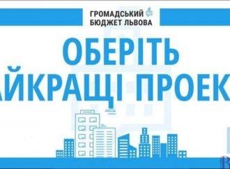 Сьогодні останній день голосування за проекти Громадського бюджету Львова