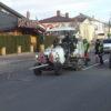 На вулиці Галицькій у Винниках з'явилася дорожня розмітка