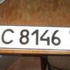 На вулиці Винна Гора знайдено автомобільні номери (можливо, викрадені)