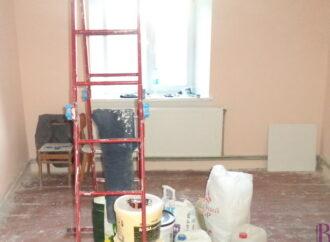 У Винниках тривають ремонтні роботи в Народному домі