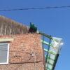 У Винниках триває ремонт комунальних будинків