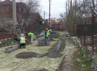 У Винниках відремонтують одну з найстаріших вулиць