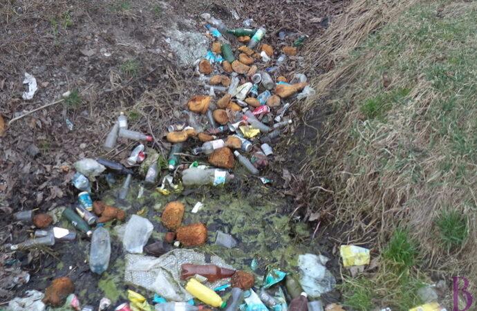 Мешканців Винник закликають не створювати стихійних сміттєзвалищ!