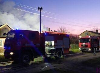 У с. Верхня Білка рятувальники ліквідували пожежу в житловому будинку