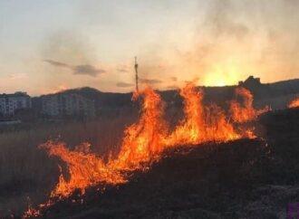 У Винниках виникла пожежа