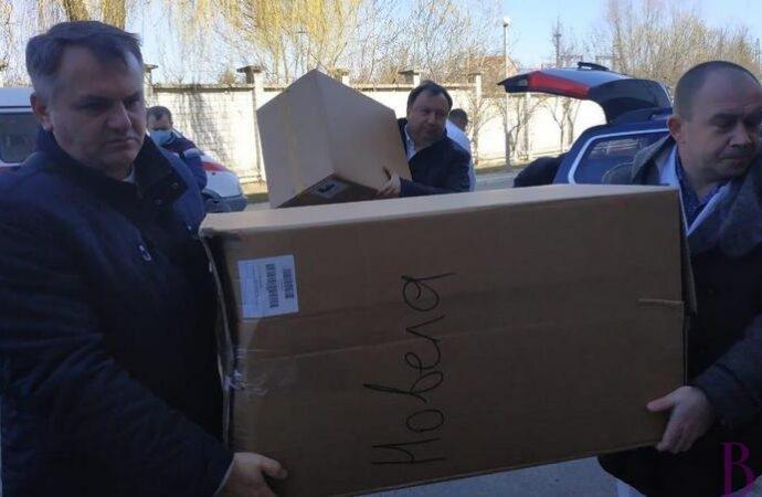 Винниківський госпіталь отримав медичне обладнання для лікування коронавірусу