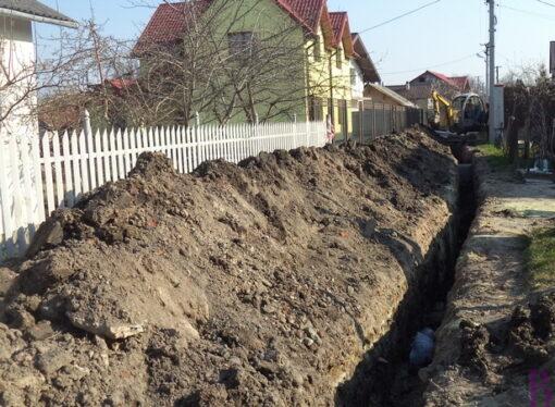 У Винниках споруджують каналізаційну мережу на ще одній вулиці