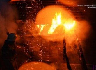 Унаслідок пожежі чоловік отримав опіки 70% тіла