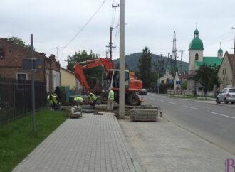 У Винниках з'явилася нова вулиця