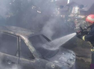 У Винниках знову горіла машина