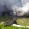 У селі Ямпіль згорів трактор
