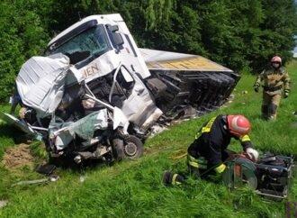 У Винниках під час ДТП загинув водій «Мерседеса» (фото)