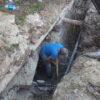 У Винниках триває будівництво ще одного каналізаційного колектора