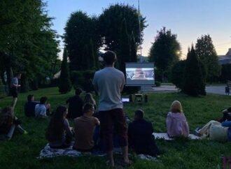 У парку Незалежності у Винниках демонстрували історичну драму «Чорний ворон»