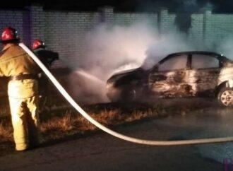 Вогонь знищив автомобіль «Daewo Lanos» у Миклашеві