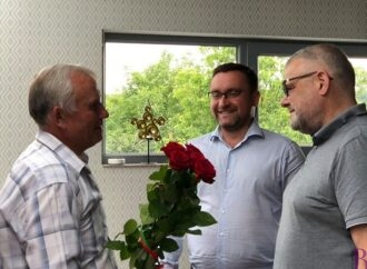 У Винниках привітали з 70-річним ювілеєм заслуженого  тренера України  Романа Проціва