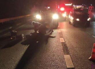 Смерть пішохода на мості у Винниках
