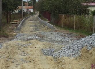 У Винниках розпочато ремонт вулиці Симоненка