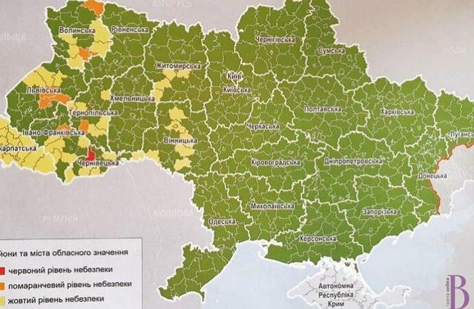 Львів – у «помаранчевій» зоні за епідситуацією з  Covid-19: що заборонено
