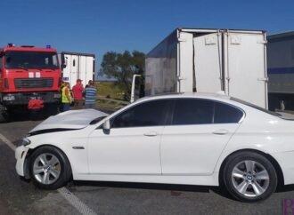 На кільцевій дорозі неподалік Винник в автоаварію потрапило шість автомобілів